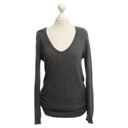 Iro Long-Pullover in Grau