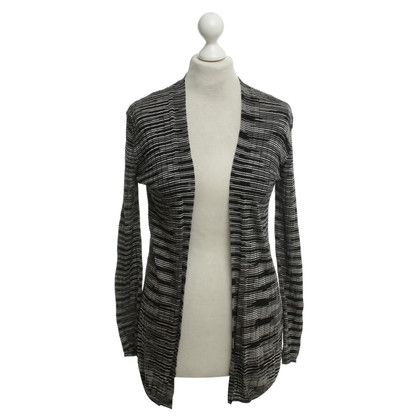 Missoni Cardigan in black / white