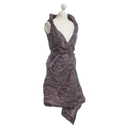 Vivienne Westwood Wikkel jurk in paars