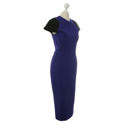 Victoria Beckham Dress in black and blue