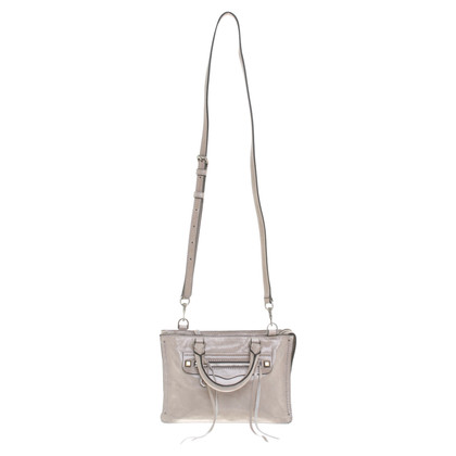 "Rebecca Minkoff ""Micro Regan Satchel"" in beige"