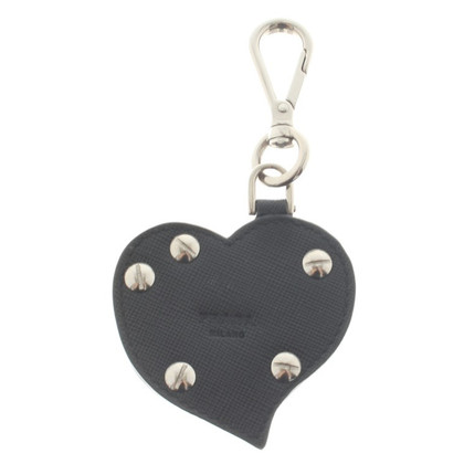Prada Key ring in heart shape