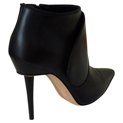 Manolo Blahnik Leather ankle boots in black