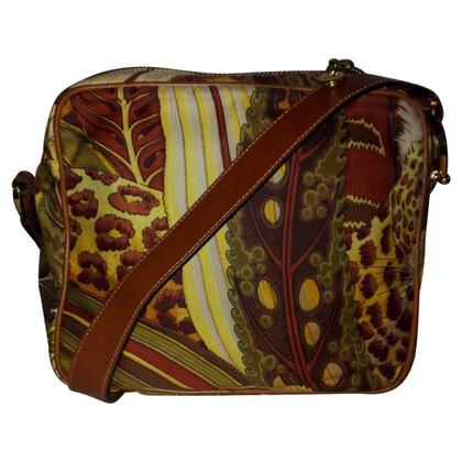 Salvatore Ferragamo Kruis lichaam Bag met Dschungelprint