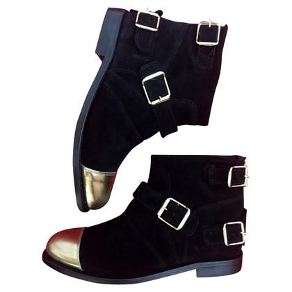 Balmain X H&M Suede boots