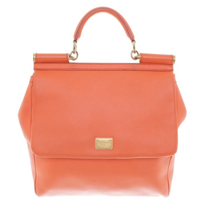 "Dolce & Gabbana ""Miss Sicily Bag"" in Orange"
