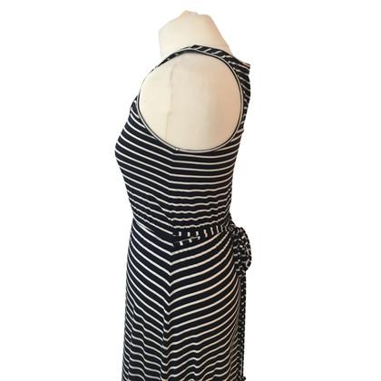 J. Crew Striped maxi dress
