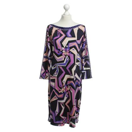 Emilio Pucci Seidenkleid mit Muster