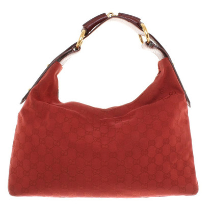 Gucci Hobo Bag in Red