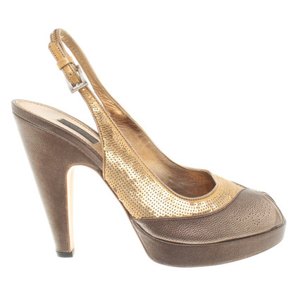 Prada Sandals with sequins