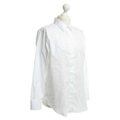 Iris & Ink Katoenen blouse wit