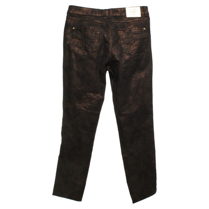 Basler trousers in bronze
