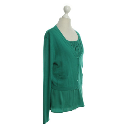Laurèl Top with jacket in green