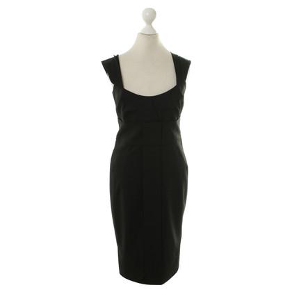 Gucci Schede jurk in zwart