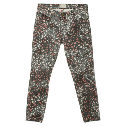 Current Elliott Skinny jeans with print