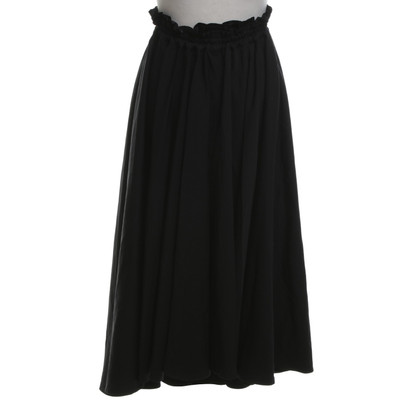 Yohji Yamamoto skirt in black