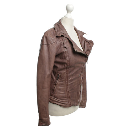 Muubaa Leather jacket in biker style
