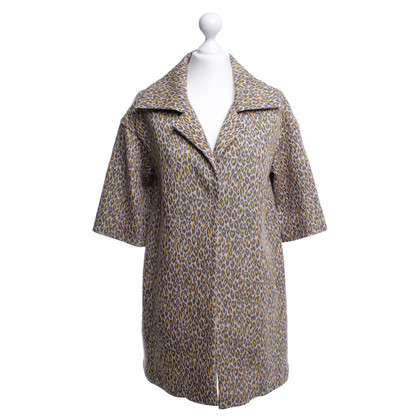 Odeeh Coat with Leopard pattern