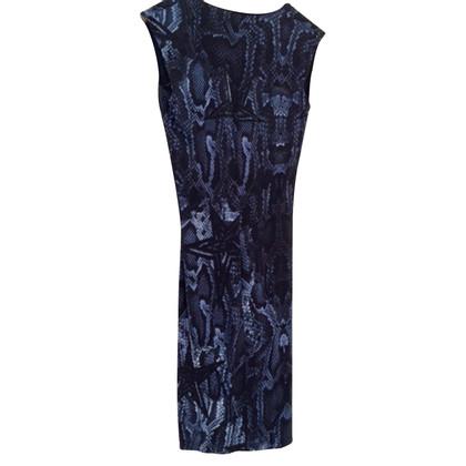 Philipp Plein Kleid mit Schlangenprint