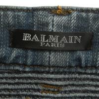 Balmain Jeans biker-style