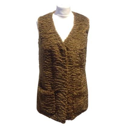 Jil Sander Faux fur vest