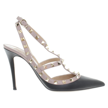Valentino Rockstud pumps in zwart