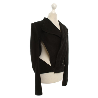 Haider Ackermann blazer Leather