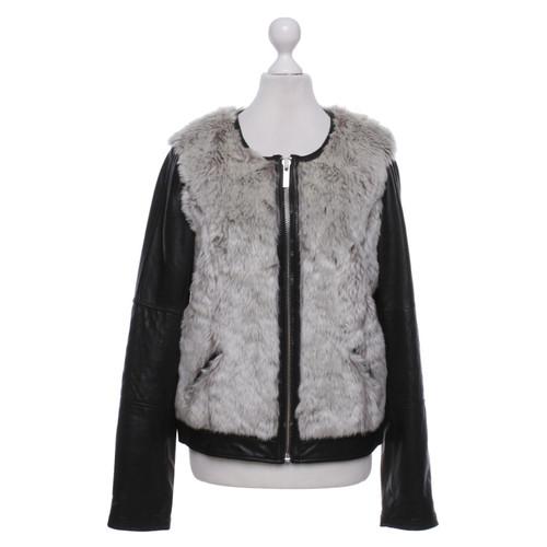 buy popular c1628 f5c79 Altre marche Goosecraft - giacca di pelle con pelliccia ...