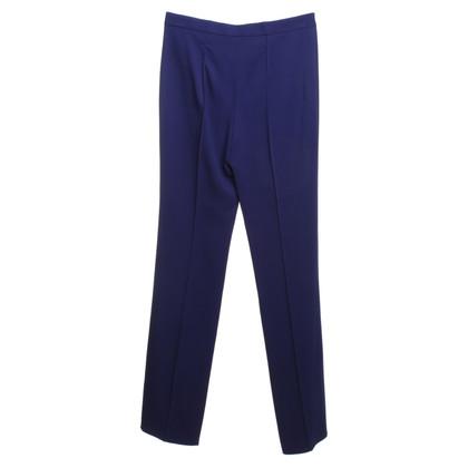 Versace Bundfaltenhose in Violett