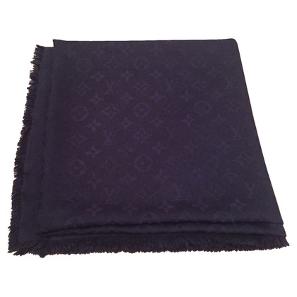 Louis Vuitton Monogram cloth in midnight blue