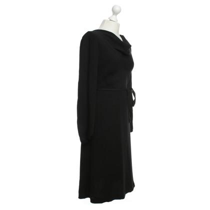 Escada dress black 34 new