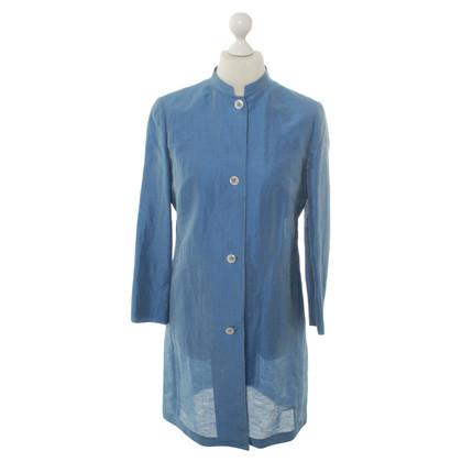 Akris Linen-silk mix summer coats