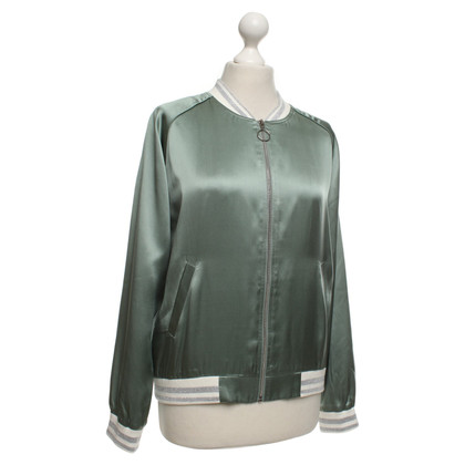 Bloom Sporty blouson made of satin