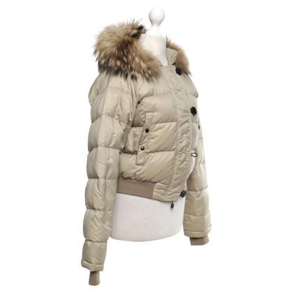 Moncler Down jacket in beige