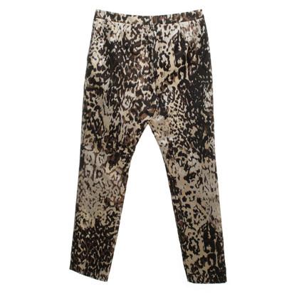 Lanvin Dierlijke print broek