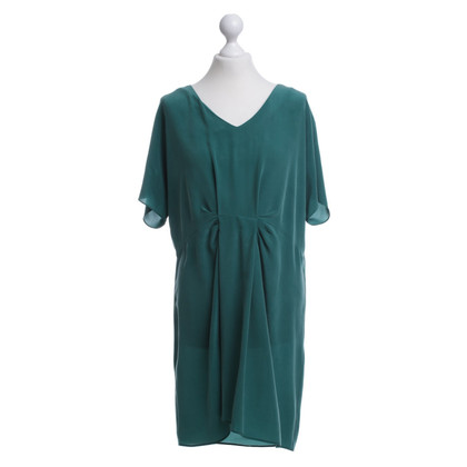 Comptoir des Cotonniers Abito in seta verde