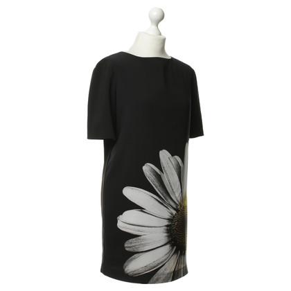 Moschino Cheap and Chic Zwarte jurk met print