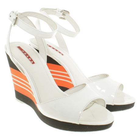 Prada Wedges in Wedges Tricolor Andere in Tricolor Farbe Prada SUwq1