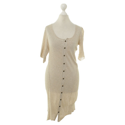 All Saints Knit dress in beige
