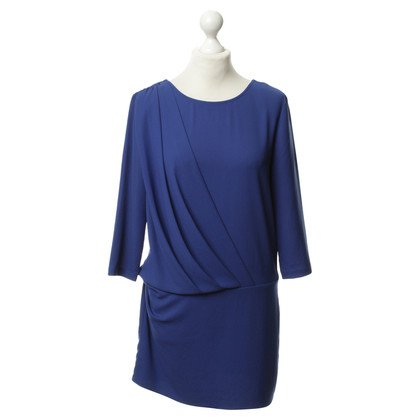 Iro Dress in ultramarine blue