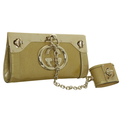 Gucci clutch with Bangle Bracelet