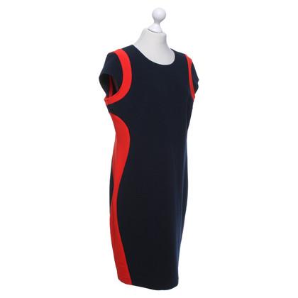 Andere merken Joseph Ribkoff - jurk in blauw / rood