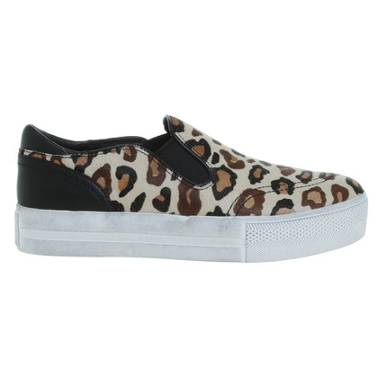 Ash Slippers met animal print