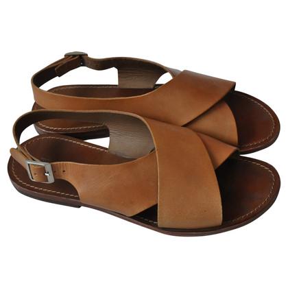 Closed sandals