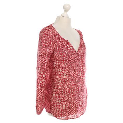 Velvet Camicia con stampa floreale