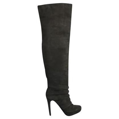 Elie Tahari Overknee-Stiefel aus Wildleder