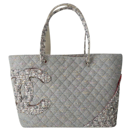 "Chanel Shoppers ' Ligne Cambon ""Tweed"