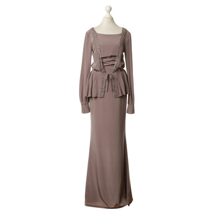 Guido Maria Kretschmer Evening dress in Taupe