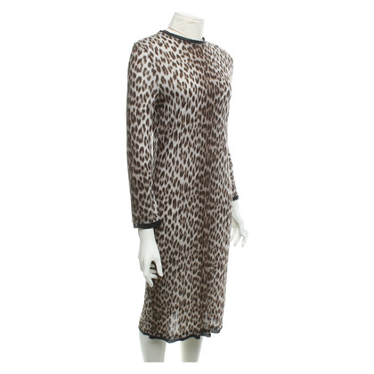 Lanvin Dress with leopard pattern