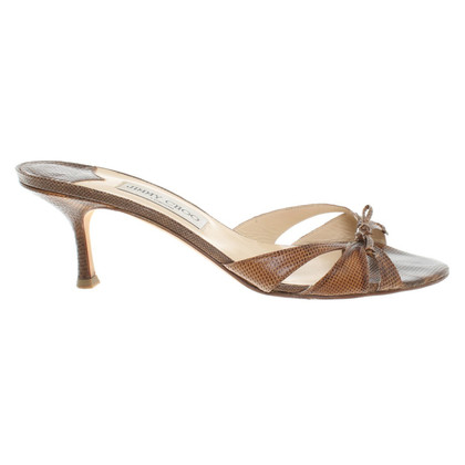 Jimmy Choo Sandalen in Braun